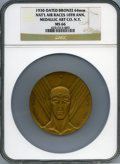 Expositions and Fairs, 1930 National Air Races, 10th Anniversary, MS66 NGC....