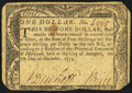 Colonial Notes:Maryland, Maryland December 7, 1775 $1 Very Good-Fine.. ...