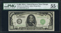 Small Size, Fr. 2212-G $1,000 1934A Federal Reserve Note. PMG About Uncirculated 55 EPQ.. ...