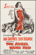 "Movie Posters:War, The Angel Wore Red & Other Lot (MGM, 1960). One Sheet &International One Sheet (27"" X 41""). War.. ... (Total: 2 Items)"