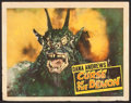 """Movie Posters:Horror, Curse of the Demon (Columbia, 1957). Lobby Card (11"""" X 14""""). Horror.. ..."""