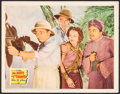 "Movie Posters:Mystery, Mr. Moto Takes a Chance (20th Century Fox, 1938). Lobby Card (11"" X14""). Mystery.. ..."