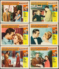 """Movie Posters:Hitchcock, Marnie (Universal, 1964). Lobby Cards (6) (11"""" X 14""""). Hitchcock.. ... (Total: 6 Items)"""