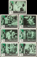 """Movie Posters:Horror, Tales of Terror (American International, 1962). Lobby Cards (7) (11"""" X 14""""). Horror.. ... (Total: 7 Items)"""