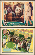 """Movie Posters:Adventure, The Adventurer & Other Lot (MGM, 1928). Lobby Cards (2) (11"""" X14""""). Adventure.. ... (Total: 2 Items)"""