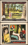 """Movie Posters:Drama, Midnight Rose & Others Lot (Universal, 1928). Lobby Cards (2)(11"""" X 14""""). Drama.. ..."""