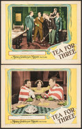 """Movie Posters:Comedy, Tea for Three (MGM, 1927). Lobby Cards (2) (11"""" X 14""""). Comedy..... (Total: 2 Items)"""