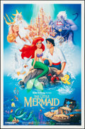 "Movie Posters:Animation, The Little Mermaid (Buena Vista, 1989). One Sheet (27"" X 41"") SS.Animation.. ..."