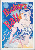 "Movie Posters:Rock and Roll, Hooker's Masquerade Ball by Robert Gotsch (Margo St. James, 1978).Event Poster (20"" X 29""). Rock and Roll.. ..."