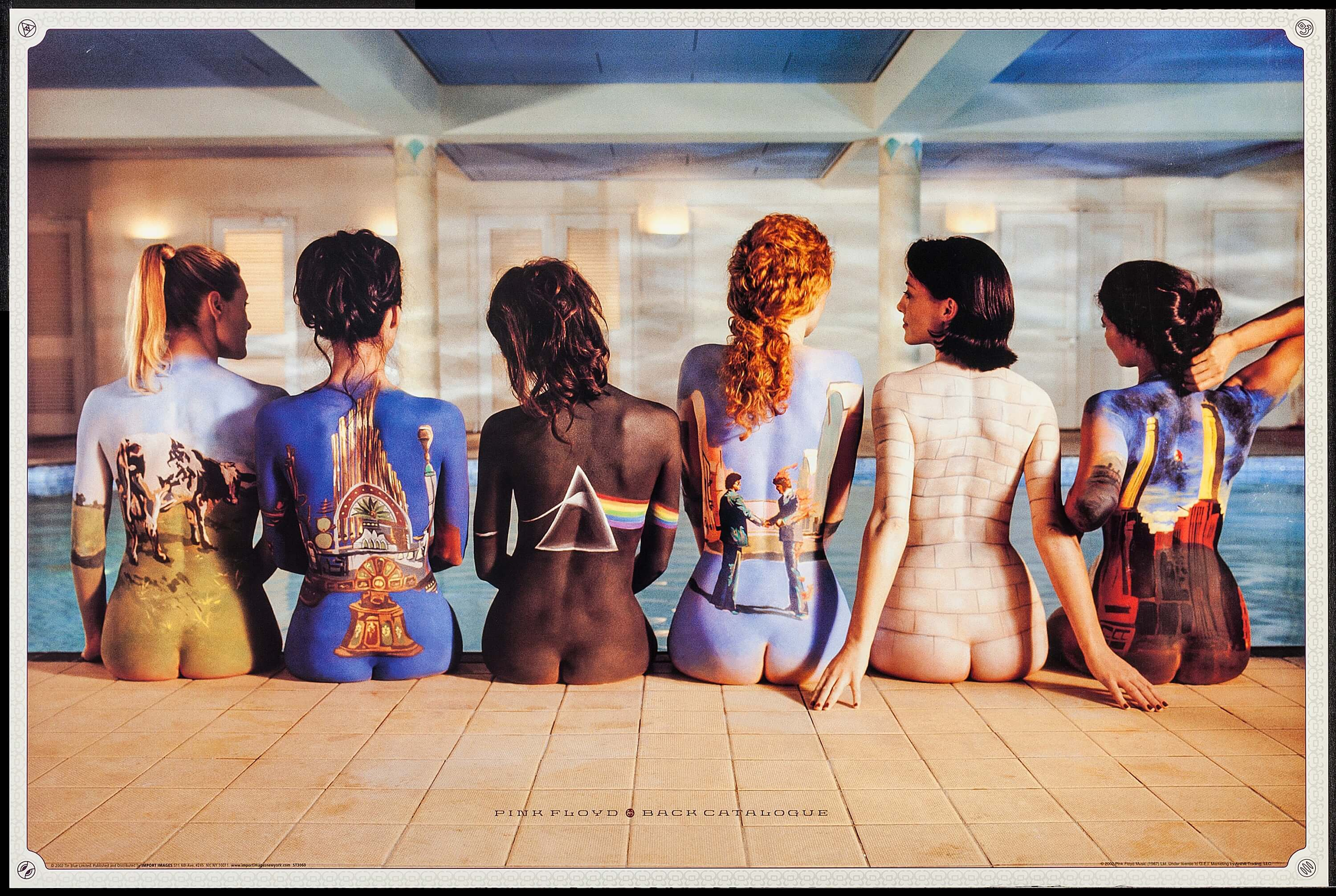 Pink Floyd Back Catalogue Import Images 2002 Commercial
