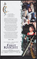 "Movie Posters:Adventure, First Knight (Columbia, 1995). Promo Poster (11"" X 17"") SS Advance& Promo Miniature Excalibur Figurine (1.75"" X 8""). Advent...(Total: 2 Items)"