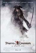 "Movie Posters:Adventure, Pirates of the Caribbean: At World's End (Buena Vista, 2007).Poster (18.5"" X 27"") DS Advance. Adventure.. ..."