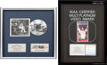 Music Memorabilia:Awards, Whitney Houston CRIA (Canadian) Platinum Sales Award for I'm Your Baby Tonight, 1991 [and] RIAA Hologram Multi-Pla... (Total: 2 Items)