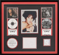 Music Memorabilia:Awards, Whitney Houston RIAA Hologram Dual Multi-Platinum Sales Award forI'm Your Baby Tonight and The Bodyguard...