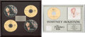 Music Memorabilia:Awards, Whitney Houston - Two Japanese Sales Awards (1993 &1997)....(Total: 2 Items)