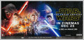 "Movie Posters:Science Fiction, Star Wars: Episode VII - The Force Awakens (Walt Disney Studios,2015). Banner (54"" X 81"") 3-D Advance. Science Fiction.. ..."