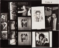 Music Memorabilia:Photos, Sonny & Cher - Color Photo Negatives with Contact Sheet ofVarious Rock Stars....
