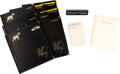 Music Memorabilia:Memorabilia, Whitney Houston - Group of Personal Desk Accessories....