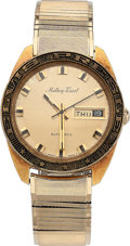 Music Memorabilia:Memorabilia, Elvis Presley Mathey-Tissot Gold Watch....
