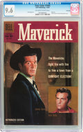 Silver Age (1956-1969):Miscellaneous, Four Color #1005 Maverick - File Copy (Dell, 1959) CGC NM+ 9.6 Off-white to white pages....