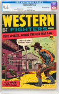 Golden Age (1938-1955):Western, Western Fighters #4 Mile High Pedigree (Hillman Fall, 1948) CGC NM+9.6 White pages....