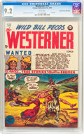 Golden Age (1938-1955):Western, The Westerner #14 Mile High Pedigree (Toytown , 1948) CGC NM- 9.2White pages....