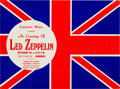 Music Memorabilia:Posters, Led Zeppelin Concert Handbill, The Forum, Los Angeles (ConcertsWest, 1970)....