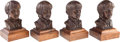 Music Memorabilia:Memorabilia, Beatles Busts by Henry Van Wolf.. ...