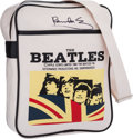 Music Memorabilia:Autographs and Signed Items, Beatles - Satchel Signed By Paul McCartney (1993)....