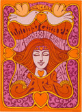 Music Memorabilia:Posters, Moby Grape/Big Brother and the Holding Company Ark Concert Poster(1967)....