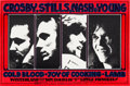 Music Memorabilia:Posters, Crosby, Stills, Nash, and Young Winterland Concert Poster BG-200(Bill Graham, 1969). ...