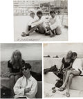 Music Memorabilia:Photos, Beatles - Three Signed Astrid Kirchherr Photos (1963)....