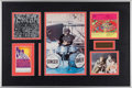 Music Memorabilia:Autographs and Signed Items, Cream - Ginger Baker Signed CD Booklet in Framed Display with JackBruce Signed Harmonica. ... (Total: 2 Items)
