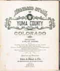 Books:Maps & Atlases, [Geo. A. Ogle & Co.]. Standard Atlas of Yuma County Colorado. Including a Plat Book of Villages, Cities and Townships of...