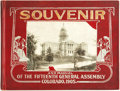 Books:Americana & American History, [Colorado]. Official Souvenir and Manual of the FifteenthGeneral Assembly and State of Colorado. Denver, Colo.: E. ...