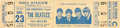 Music Memorabilia:Tickets, Beatles New York Shea Stadium Unused Concert Ticket (1966). ...
