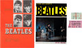 Music Memorabilia:Tickets, Beatles Melbourne and Brisbane Australia Concert Ticket Stubs (Two)and Tour Programs from Australia and New Zealand (June 196...