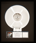Music Memorabilia:Awards, N.W.A. Straight Outta Compton RIAA Hologram Platinum RecordSales Award (Ruthless SL-57102, 1988). ...