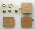 Proof Sets, Three 1951 Proof Sets and One 1953 Proof Set. The five coins in each set remain in their soft-pack wrappers. Three of the se... (Total: 4 sets)