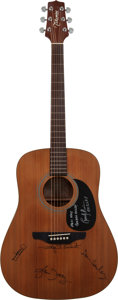 Musical Instruments:Acoustic Guitars, The Eagles Signed 1990's Takamine G-S-330S Natural Acoustic Guitar....