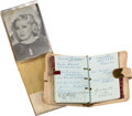 Movie/TV Memorabilia:Memorabilia, A Mae West Set of Wallet Items, Circa 1950s....