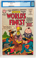 Silver Age (1956-1969):Superhero, World's Finest Comics #83 (DC, 1956) CGC FN 6.0 Off-white pages....
