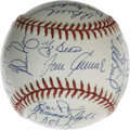 Autographs:Baseballs, 1969 New York Mets Reunion Team Signed Baseball. Near flawlessbaseball from a reunion event for the Amazin' 1969 Mets incl...