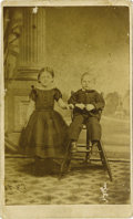 Basketball Collectibles:Others, 1860's James Naismith as a Child Archive. The prehistory of basketball appears in the form of a carte de visite photograph ...