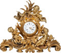 Movie/TV Memorabilia:Instruments , A Mae West Large and Ornate Mantle Clock, Early 20th Century....