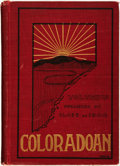 Books:Americana & American History, [University of Colorado]. The Coloradoan 1904. Volume Five.Quarto Centennial Number. [Boulder]: The Junior Class, L...