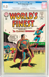 World's Finest Comics #140 (DC, 1964) CGC VF/NM 9.0 Off-white pages