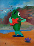 Music Memorabilia:Original Art, Stanley Mouse (Born 1940) Original Painting For The Band Phish(1998)....