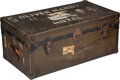 Movie/TV Memorabilia:Memorabilia, An Oliver Hardy Small Steamer Trunk, Circa 1920s....