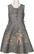 Music Memorabilia:Costumes, Elvis Presley Official Jumper Dress (Little Jean Togs, 1956)....